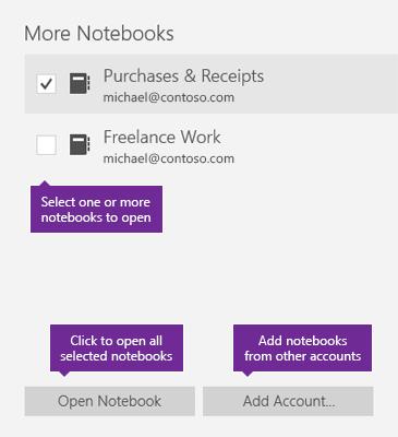 Open Office Onenote